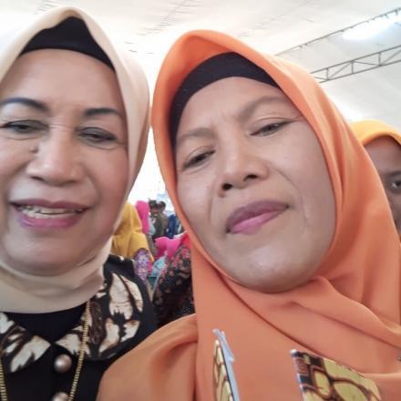 Selfie Bersam Ibu Bupati