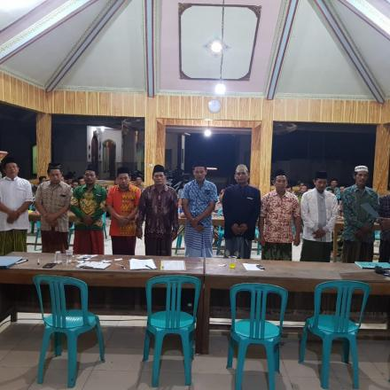 Jajaran Panita Pilkades 2019